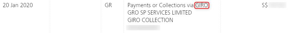 GIRO公共料金